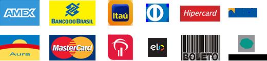 formas de pagamento logos
